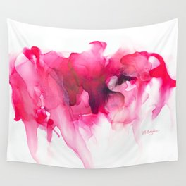 When The Heart Bleeds Wall Tapestry