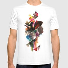 color study 2 Mens Fitted Tee White MEDIUM