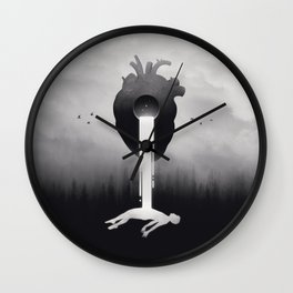Glimpse of Light Wall Clock