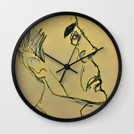 Guy Wall Clock