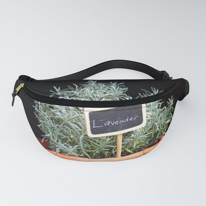 Lavender Plant Fanny Pack