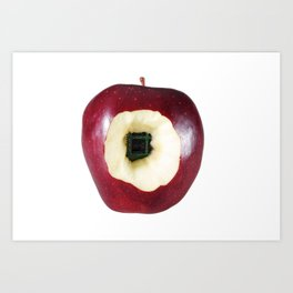 Apple Computer! Art Print