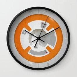 BB8 Texture Wall Clock