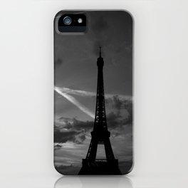 Parisian Sunset iPhone Case