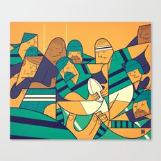 Rugby 2 Canvas Print