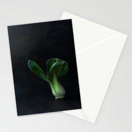 Portrait of pak choi Stationery Cards