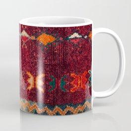 -A8- Colored Traditional Moroccan Carpet Artwork. Coffee Mug