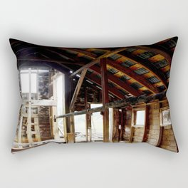 Exploring the Longfellow Mine of the Gold Rush - A Series,No. 5 of 9 Rectangular Pillow