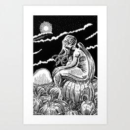 It's the Great Cthulhu! Art Print