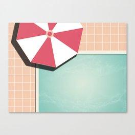 Private Pool #society6 #decor #buyart Canvas Print