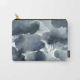 Light Rain Abstract Expressionism  Carry-All Pouch
