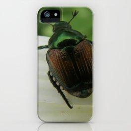 Metallic Emerald Green iPhone Case