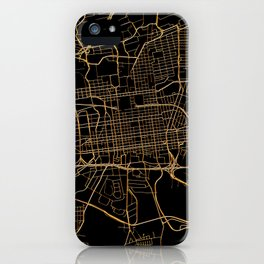 Johannesburg map, South Africa iPhone Case