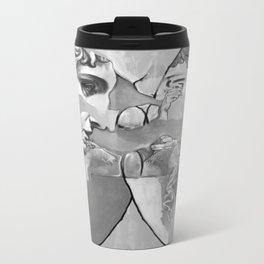Ghost in the Stone #1 Metal Travel Mug