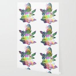 crystals 2 Quartz Wallpaper