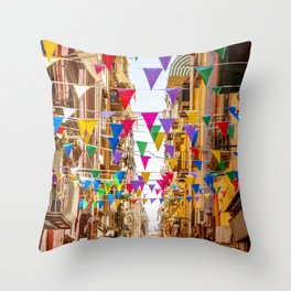Naples, Italy Throw Pillow