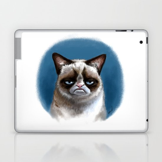 Grumpy Cat Laptop & iPad Skin