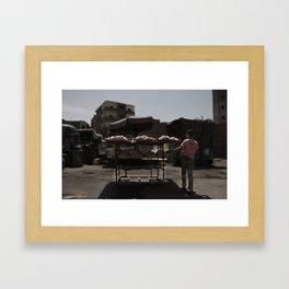 Man of the House Framed Art Print
