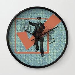 Extra! Wall Clock