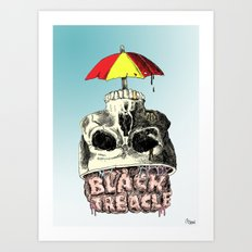 Black Treacle Art Print
