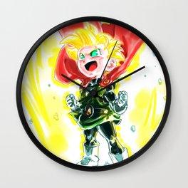 Saiya-Pan Wall Clock
