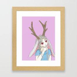 """""""Hit or miss? """" Framed Art Print"""