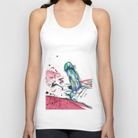 randy c Tank Tops featuring Randy by M.GrondinArt