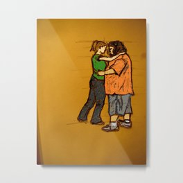 come back with me Metal Print
