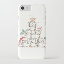 Oh Penguin Tree iPhone Case