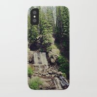 ashton irwin iPhone & iPod Cases featuring Irwin Falls by Teal Thomsen Photography