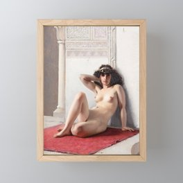 The Favorite by Luis Ricardo Falero Framed Mini Art Print