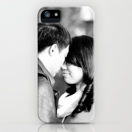 Love is the Harmony; Desire is the Key iPhone Case