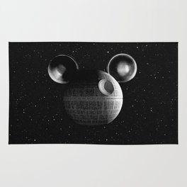 That's no moon... Disney Death Star Rug