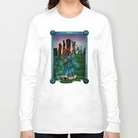 merida Long Sleeve T-shirts featuring Silhouette Merida  by Katie Simpson a.k.a. Redhead-K