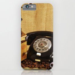 Coffee grinder Coffee cup Phone Image iPhone Case