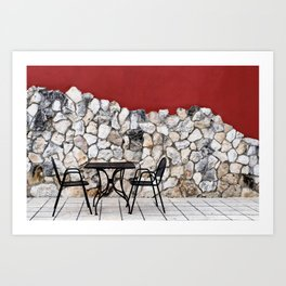 Passion For Dining Art Print