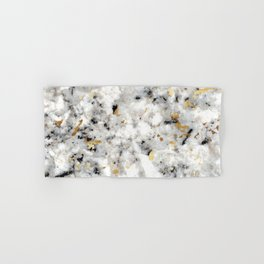Classic Marble with Gold Specks Hand & Bath Towel