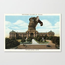 The King of Austin Canvas Print