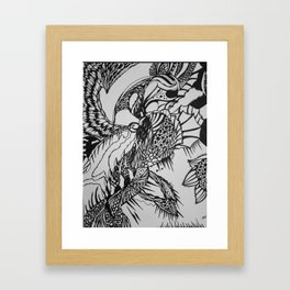 Contamination Framed Art Print
