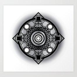 Crest Art Print