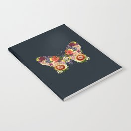 Spring Butterfly Floral Notebook
