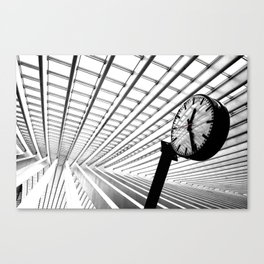 Time to go  Canvas Print