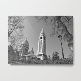 The Sacre-Coeur Basilica at Montmartre Metal Print