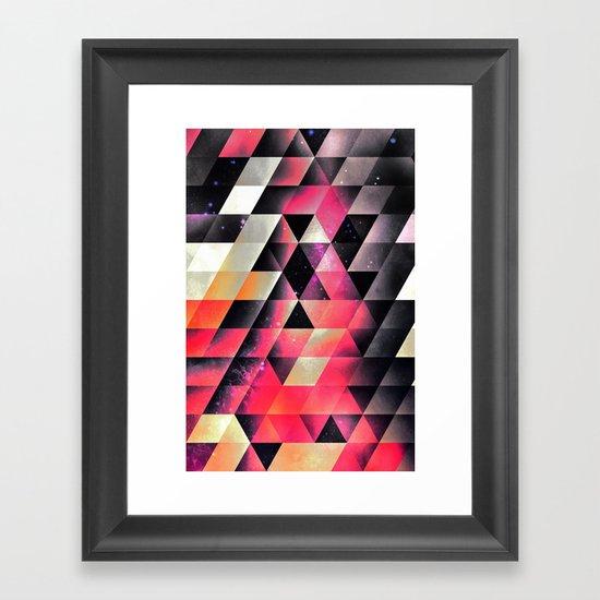 fyrlyrne fyyrth Framed Art Print