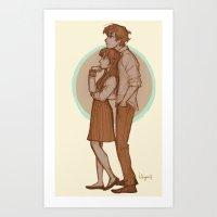 burdge Art Prints featuring Gotta Love by Burdge