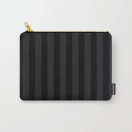 Simply Black on Black Carry-All Pouch