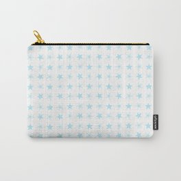 Blue Little Stars Carry-All Pouch