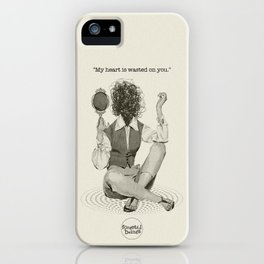 Wasted Heart iPhone Case