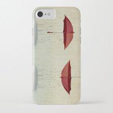 embracing the rain Slim Case iPhone 8