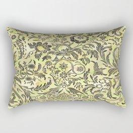 Watercolor Damask Pattern 03 Rectangular Pillow